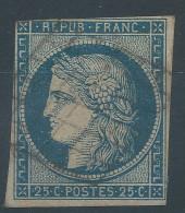 Lot N°30850   N°4, Oblit Grille De 1849 - 1849-1850 Cérès