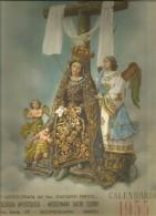CAL31---  CALENDARIO, 1955,,  MISSIONARI SACRI CUORI,  SECONDIGLIANO, NAPOLI, - Calendari