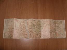 ROMA MAPPA CARTINA TOPOGRAFICA LINEA TRANVIARIA FERROVIA AUTOBU - Carte Topografiche