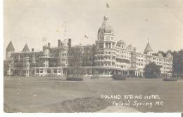 Poland Spring Hotel, Poland Spring, Maine RPPC - United States