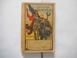 ANNUAIRE DES FORCES DE TERRE ET DE MER DE LA REPUBLIQUE ALMANACH DU DRAPEAU 1908 402 PAGES - Livres