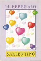 R279 San Valentino - Valentine's Day - Valentin / Non Viaggiata - San Valentino