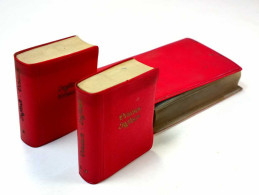 RARE VINTAGE OLD UNIQUE SET 1960 DICTIONARIES GERMAN-ENGLISH ENGLISH-GERMAN 2 Pieces - Language Study