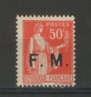 +++ A SAISIR!!! -80% Sur PARFAIT  N°7  NEUF**  De 1933           SCAN CONTRACTUEL - Franchigia Militare (francobolli)