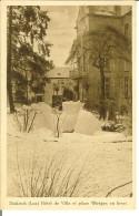 """CP De DIEKIRCH """" Hôtel De Ville Et Place Wirtgen En Hiver   """" - Diekirch"""
