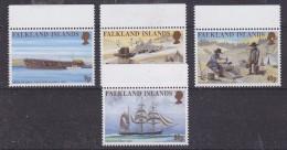 Falkland Islands 1999 Californian Gold Rush 4v  (+margin) ** Mnh (30239) - Falklandeilanden