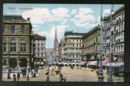 Austria 1972 Kärntnerstrasse Wien Vienna Vintage Picture Post Card To France # PC10 - Other