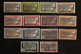 Togo 1924 N° 124 / 43 * Agriculture, Plamier, Cocotier, Noix De Coco, Chocolat, Cacao, Cacaoyer, Huile De Palme, Récolte - Togo (1960-...)