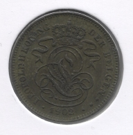 LEOPOLD II * 2 Cent 1902 Vlaams * Nr 3035 - 1865-1909: Leopold II