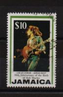 Jamaica 1995, $10, Bob Marley, Music, Minr 865, Vfu. Cv 1,70 Euro - Jamaique (1962-...)