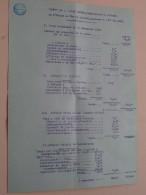 ROUVRAY Lepage à Allaire PACY Sur EURE (Vente Mobilière/Huissier) Anno 1920 ( Details Zie Foto´s ) ! - France
