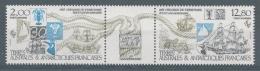 French Antarctic (FSAT), Foundation Of The FSAT, 30th Anniv., 1985, MNH VF  Airmail - Airmail