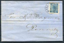 1870 Sweden Carlshamn 12 Ore Coat Of Arms Entire - Schweden