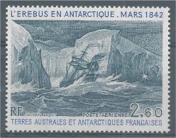 "French Antarctic (FSAT), Ship ""Erebus"" In Antarctica, 1984, MNH VF  Airmail - Airmail"