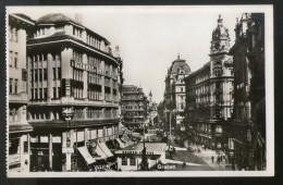 Austria Graben Street View Cars Clock Wien Vienna Vintage Picture Post Card # PC34 - Wenen