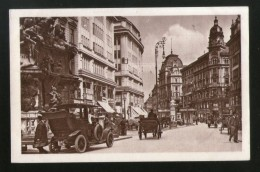 Austria Graben Street View Cars Wien Vienna Vintage Picture Post Card # PC35 - Other
