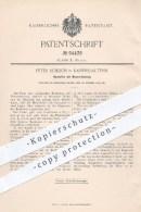 Original Patent - Peter Schlich In Kaiserslautern , 1897 , Backofen Mit Wasserheizung , Ofen , Öfen , Bäcker , Bäckerei - Historische Dokumente