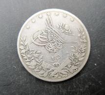 ÉGYPTE, 2 Qirsh Abdul Hamid II  1293 An 20 1894 - Egypte