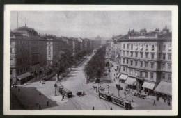 Austria Kärntner-ring Grand Hotel Wien Vienna Vintage Picture Post Card # PC38 - Wenen