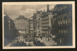 Austria Neuer Markt Tramways Cars Wien Vienna Vintage Picture Post Card # PC40 - Wenen