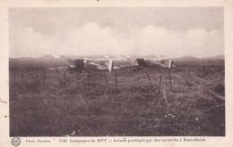 AVIONS PROTEGES PAR DES BARBELES A BENI-MALEK (dil230) - 1919-1938