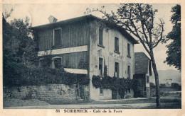 SCHIRMECK -  CAFE DE LA FORÊT -  1939 - Schirmeck