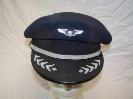 CASQUETTE  PILOTE  USA    Année  50/60 - Headpieces, Headdresses