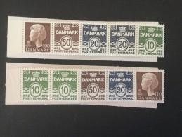 1977 Königin Margrethe II Michel H 25 Mit H.Bl. 15 **) + MH 26 Mit H.Bl. 16 **) - Markenheftchen