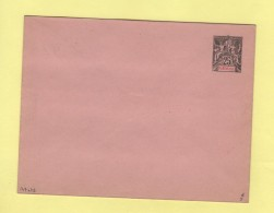 Martinique - Entier Postal - Enveloppe 147x112 - 25c - Rabat Colle