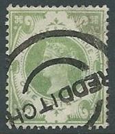 1887 GRAN BRETAGNA USATO GIUBILEO REGINA VITTORIA 1 S - U2 - 1840-1901 (Viktoria)