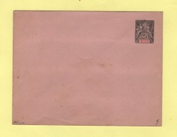Inde - Entier Postal - Enveloppe 147x112 - 25c - Rabat Colle
