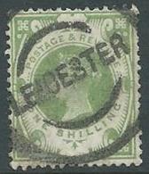 1887 GRAN BRETAGNA USATO GIUBILEO REGINA VITTORIA 1 S - U2-4 - 1840-1901 (Victoria)