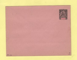 Diego Suarez - Entier Postal - Enveloppe 147x112 - 25c - Rabat Colle