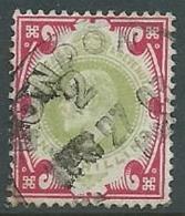 1902 GRAN BRETAGNA USATO EFFIGIE EDOARDO VII 1 S - U3 - 1902-1951 (Re)