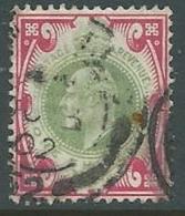 1902 GRAN BRETAGNA USATO EFFIGIE EDOARDO VII 1 S - U3-3 - 1902-1951 (Re)