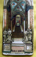 ITALIA 1934 - ANTICO SANTINO DELLA SCALA SANCTA DI ROMA - Devotieprenten