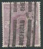 1902 GRAN BRETAGNA USATO EFFIGIE EDOARDO VII 2/6 - U2-5 - 1902-1951 (Re)