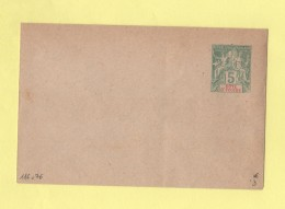 Cote D Ivoire - Entier Postal - Enveloppe 116x76 - 5c Sans Date