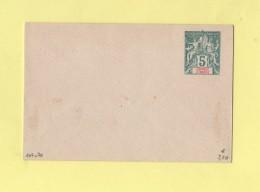 Grande Comore - Entier Postal - Enveloppe 107x70 - 5c Vert Sans Date