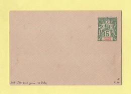 Grande Comore - Entier Postal - Enveloppe 107x70 - 5c Sans Date
