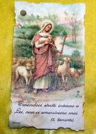 ITALIA 1923 - ANTICO SANTINO OSSEQUIO A MARIA SANTISSIMA - Santini