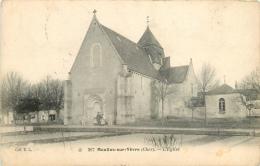 CPA Moulins Sur Yèvre-L'église     L2128 - Autres Communes