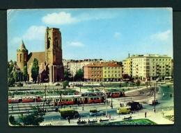 POLAND  -  Warsaw  Plac Narutowicza  Used Postcard - Poland