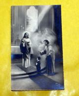 ITALIA 1928 - ANTICO SANTINO PRIMA COMUNIONE MONTEVARCHI - Images Religieuses