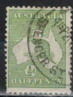 AUSTRALIEN 1913 - MiNr: 4 Ix   Used - 1913-48 Kangaroos