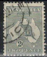 AUSTRALIEN 1913 - MiNr: 6 Ix   Used - 1913-48 Kangaroos