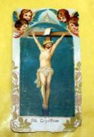ITALIA 1896 - ANTICO SANTINO SS. CROCIFISSO - Images Religieuses