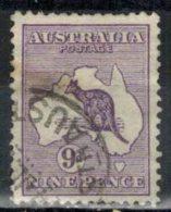 AUSTRALIEN 1913 - MiNr: 12 II   Used - 1913-48 Kangaroos