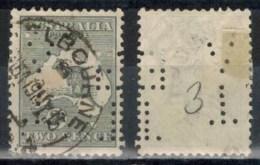 AUSTRALIEN 1915 - MiNr: 21 Ix Perfin  Used - 1913-48 Kangaroos