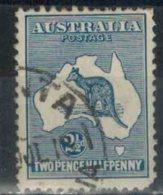 AUSTRALIEN 1915 - MiNr: 42 IIx  Used - 1913-48 Kangaroos